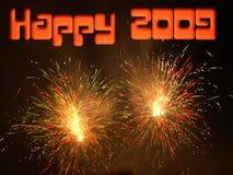 2009 heureux Photos libres de droits