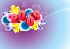 2009 heureux ! Illustration Stock