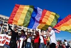 2009 homoseksualna Bucharest parada Zdjęcie Stock