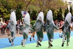2009 Hong kong maraton obrazy stock