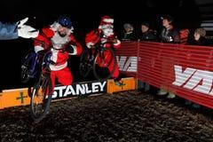 2009 Ingezetenen Cyclocross Stock Afbeeldingen