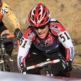 2009 Ingezetenen Cyclocross (Kristi Berg) Royalty-vrije Stock Fotografie
