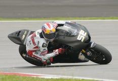 2009 Ingleses James Toseland da tecnologia 3 Yamaha Imagem de Stock Royalty Free