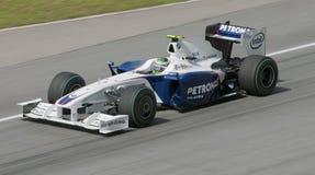 2009 Inkeping Heidfeld bij Maleise F1 Grand Prix Stock Afbeelding