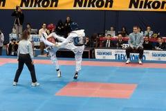2009 Italiaanse Kampioenschappen Taekwondo Royalty-vrije Stock Fotografie