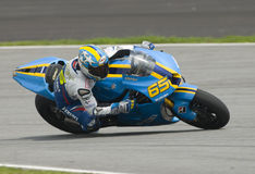 2009 Italian Loris Capirossi of Rizla Suzuki Royalty Free Stock Photography