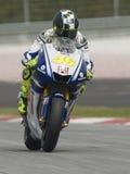 2009 italiano Valentino Rossi della squadra di Fiat Yamaha Fotografie Stock