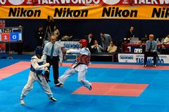2009 italienische Taekwondo-Meisterschaften Lizenzfreies Stockfoto
