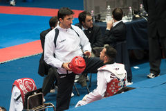 2009 italienische Taekwondo-Meisterschaften Lizenzfreie Stockfotografie