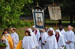 2009 jesień druids równonoc zdjęcia royalty free