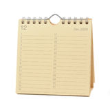 2009 kalender december Royaltyfri Foto