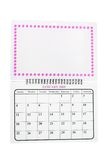2009 kalender januari Royaltyfria Bilder