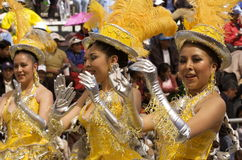 2009 karnawałowy Bolivia oruro Luty Obraz Royalty Free
