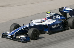 2009 Kazuki Nakajima at Malaysian F1 Grand Prix Royalty Free Stock Photos