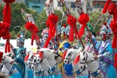 2009 kinesiska edinburgh festivalaktörer Royaltyfria Bilder