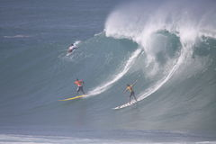 2009 Kwik Eddie Aikau Big Wave Event Stock Foto