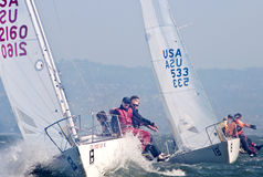 2009 le championnat de national de J-24 USA Image stock