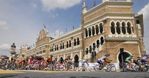 2009 le Tour de Langkawi, Kuala Lumpur, Malaysia. Royalty Free Stock Images