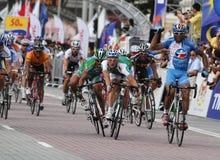 2009 le Tour DE Langkawi, Kuala Lumpur, Maleisië. Royalty-vrije Stock Fotografie