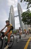 2009 le Tour DE Langkawi, Kuala Lumpur, Maleisië. Stock Afbeelding