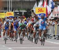 2009 le Tour DE Langkawi, Kuala Lumpur, Maleisië. Royalty-vrije Stock Foto