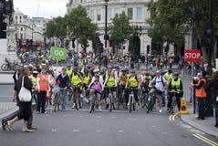 2009 London skyride zdjęcie royalty free