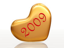 2009 in love Royalty Free Stock Photo