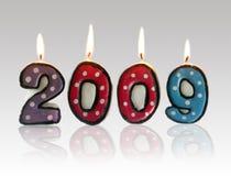 2009 lyckliga nya år Arkivbilder