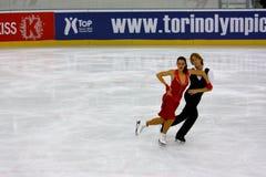 2009 mästerskap figure italienskt samlat åka skridskor Fotografering för Bildbyråer