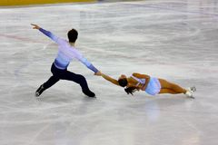 2009 mistrzostw obliczają włoskiego całkowitego łyżwiarstwo Zdjęcie Royalty Free