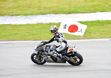 2009 MotoGP 250cc Kategorie - Hiroshi Aoyama Lizenzfreie Stockfotografie
