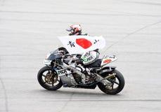 2009 MotoGP 250cc Kategorie - Hiroshi Aoyama Lizenzfreie Stockbilder