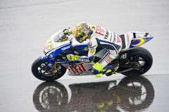 2009 MotoGP - Valentino Rossi Royalty Free Stock Images
