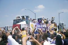 2009 NBA Kampioen Los Angeles Lakers Royalty-vrije Stock Foto