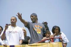 2009 NBA Kampioen Los Angeles Lakers, Royalty-vrije Stock Afbeelding