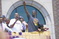 2009 NBA Kampioen Los Angeles Lakers Royalty-vrije Stock Foto's