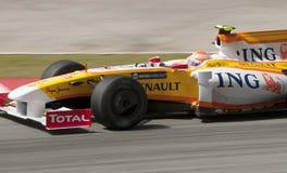 2009 Nelson Piquet Jr. at Malaysian F1 Grand Prix Royalty Free Stock Photos