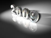 2009 neue Jahre Lizenzfreie Stockfotografie