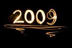 2009 neues Jahr Lizenzfreie Stockfotos