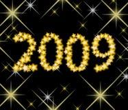 2009 new year Στοκ Εικόνες