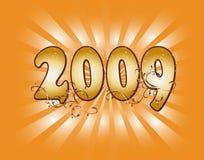 2009 new year Στοκ Φωτογραφίες