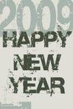 2009 - New Year Royalty Free Stock Photo