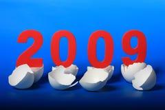 2009 nowego roku Fotografia Royalty Free