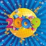 2009 nowy rok Obrazy Royalty Free