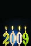 2009 nowy rok Zdjęcia Royalty Free