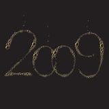 2009 nowy rok Fotografia Royalty Free
