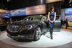 2009 NY International Auto Show Stock Photo