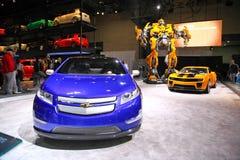 2009: NY Internationale Auto toont Stock Afbeeldingen