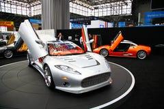2009 NY Internationale toont Auto Stock Foto's