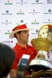 2009 o banco comercial Qatar domina o competiam Fotografia de Stock Royalty Free